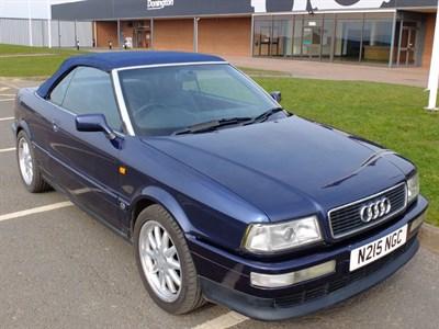 Lot 17-1996 Audi 80 2.6 Cabriolet