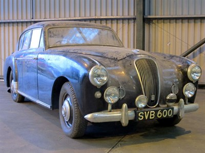 Lot 82-1957 Lagonda 3 Litre Saloon