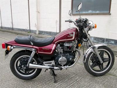 Lot 57-1982 Honda CB450SC Nighthawk