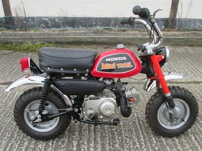 Lot 7-1978 Honda Z50A
