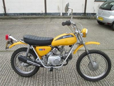 Lot 22-1971 Honda SL70