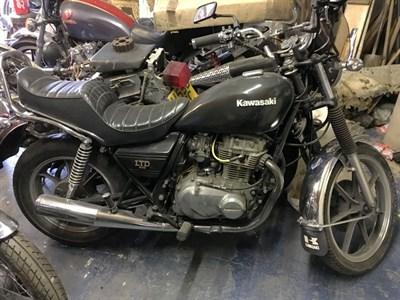 Lot 46-1984 Kawasaki KZ440LTD