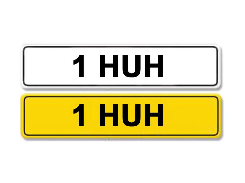 Lot 7 - Registration Number 1 HUH