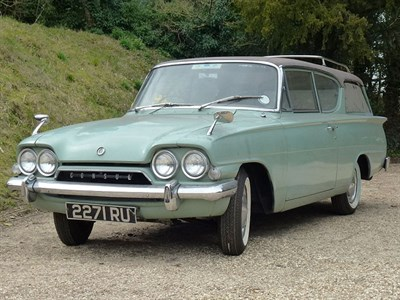 Lot 1 - 1961 Ford Consul Classic Station Wagon