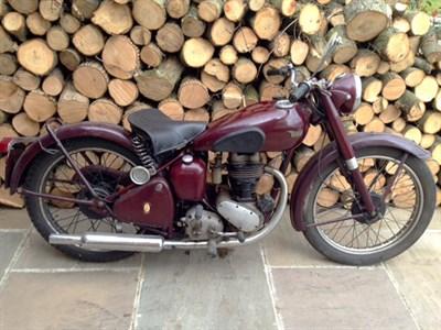 Lot 19-1949 BSA C10