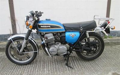 Lot 91-1977 Honda CB750 K6