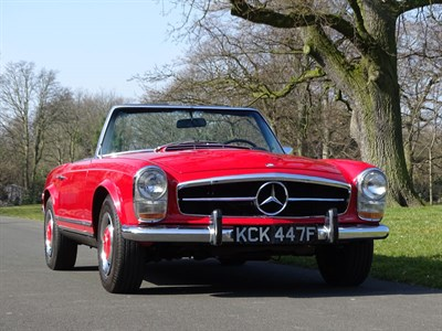 Lot 90 - 1968 Mercedes-Benz 250 SL