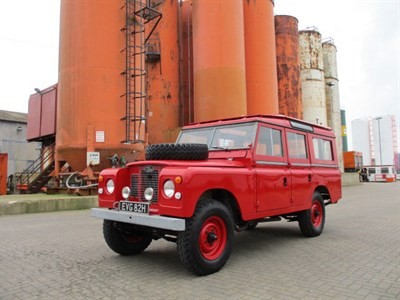 Lot 10 - 1970 Land Rover 109 Series IIA