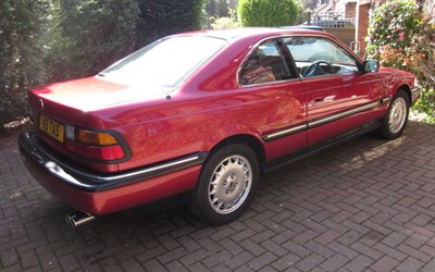 Lot 36-1992 Rover 827 Coupe