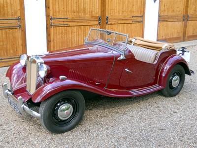 Lot 3-1953 MG TD