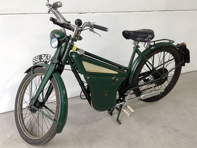 Lot 76-1956 New Hudson Autocycle