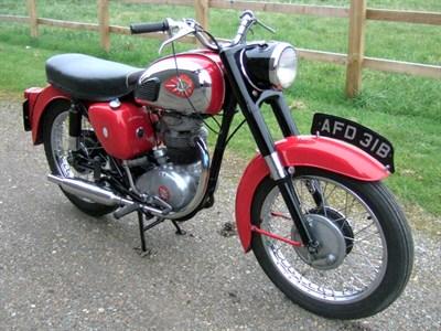 Lot 79-1964 BSA B40