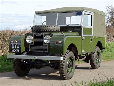 Lot 47-1956 Land Rover 86