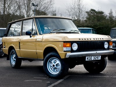 Lot 71-1978 Range Rover 'Two Door'