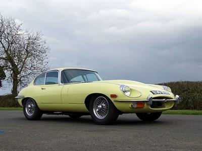 Lot 19-1970 Jaguar E-Type 4.2 Coupe