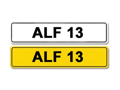 Lot 9 - Registration Number ALF 13