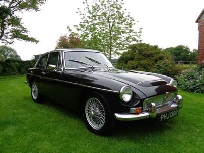 Lot 12 - 1968 MG C GT
