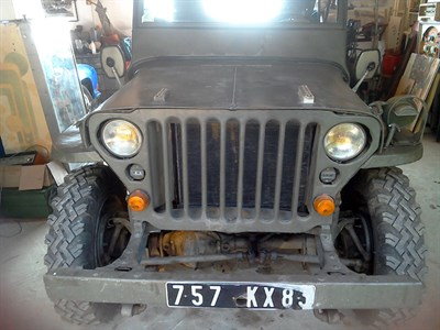 Lot 76-c.1942 Willys MB Jeep