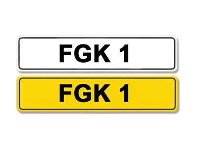 Lot 11 - Registration Number FGK 1