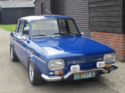 Lot 10 - 1969 Renault 10 Alconi