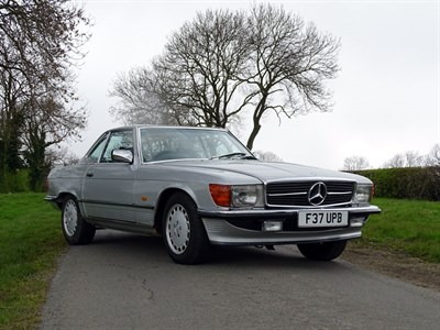 Lot 19-1988 Mercedes-Benz 420 SL