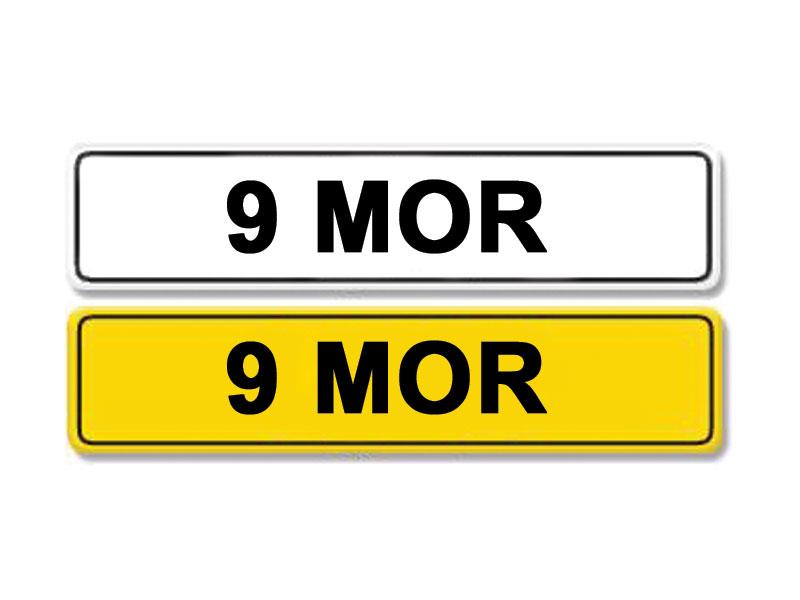 Lot 3 - Registration Number 9 MOR