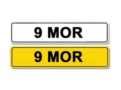 Lot 3-Registration Number 9 MOR