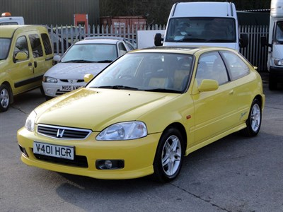 Lot 87-1999 Honda Civic VTI-S 1.6 Jordan Limited Edition