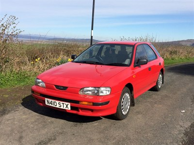 Lot 20 - 1996 Subaru Impreza GL 1.6