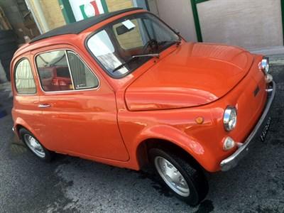 Lot 21-1975 Fiat 500 R