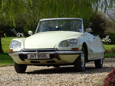 Lot 88-1972 Citroen D Special Convertible
