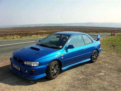 Lot 11-2000 Subaru Impreza P1