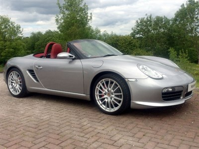 Lot 56-2008 Porsche Boxster RS 60 Spyder