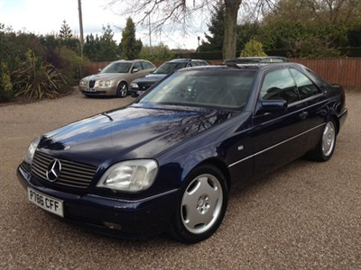 Lot 33-1998 Mercedes-Benz CL 600