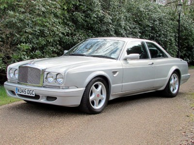 Lot 59-1996 Bentley Continental R Jack Barclay
