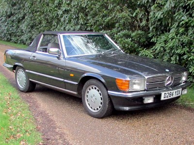 Lot 53-1986 Mercedes-Benz 420 SL