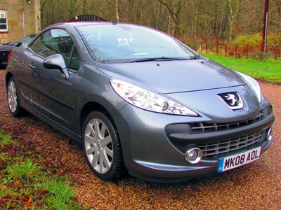 Lot 48 - 2008 Peugeot 207 CC
