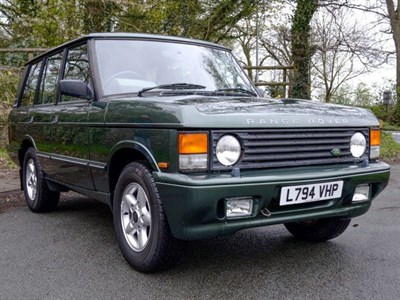 Lot 50-1994 Range Rover Vogue SE