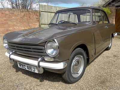 Lot 3-1970 Triumph Herald 13/60 Saloon