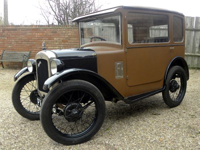 Lot 28-1928 Austin Seven Fabric Saloon