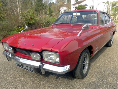 Lot 16-1970 Ford Capri 2.0 GT XLR
