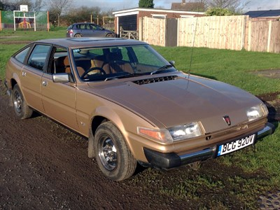 Lot 4-1980 Rover SD1 3500
