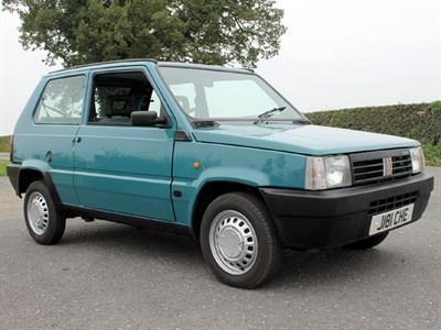 Lot 31-1992 Fiat Panda 1000 Selecta