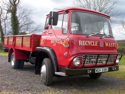 Lot 13-1979 Bedford TK Truck