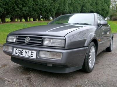 Lot 80 - 1989 Volkswagen Corrado 1.8
