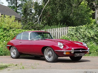 Lot 43 - 1969 Jaguar E-Type 4.2 Coupe