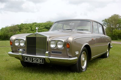 Lot 10-1970 Rolls-Royce Silver Shadow
