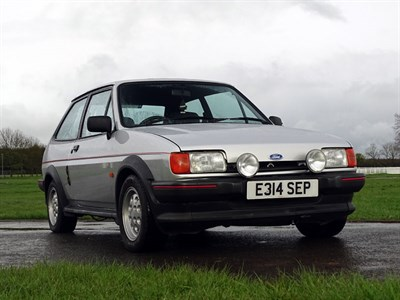 Lot 5-1987 Ford Fiesta XR2