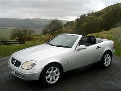 Lot 40-1999 Mercedes-Benz SLK 230 Kompressor