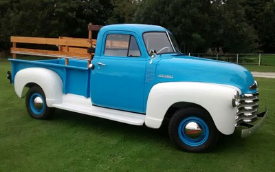 Lot 68-1951 Chevrolet 3600 Pickup